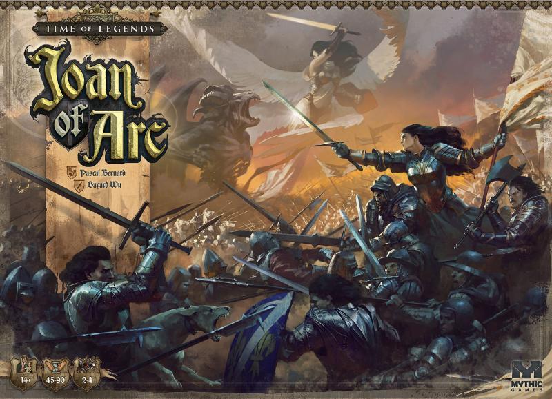 настольная игра Time of Legends: Joan of Arc Время легенд: Жанна д'Арк