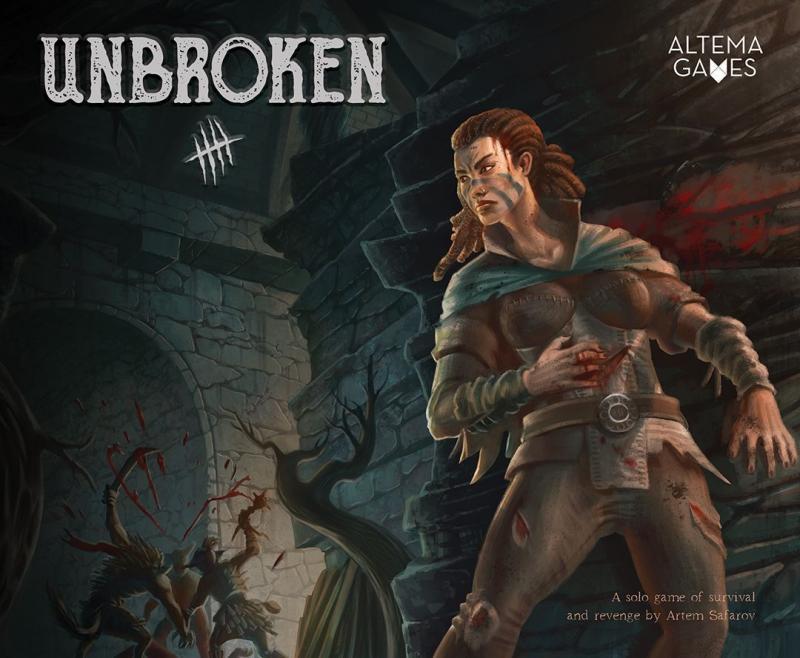 настольная игра Unbroken Непрерывный