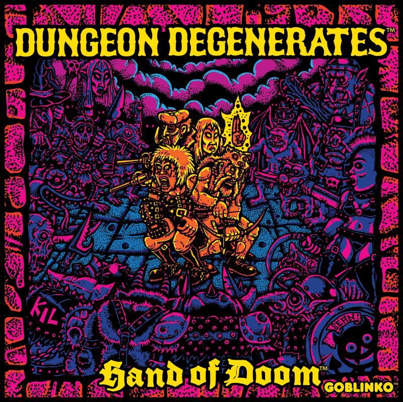 настольная игра Dungeon Degenerates: Hand of Doom Подземелье вырождается: Рука Судьбы