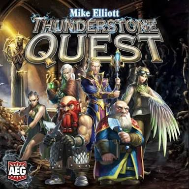 настольная игра Thunderstone Quest Грозовой камень Квест