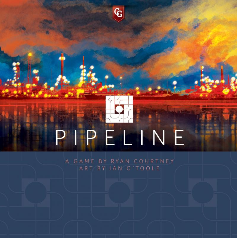 настольная игра Pipeline Трубопровод