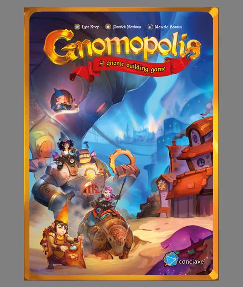 настольная игра Gnomopolis