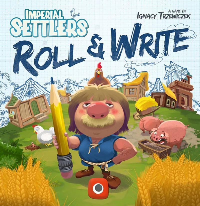 настольная игра Imperial Settlers: Roll & Write Имперские Поселенцы: Roll & Write