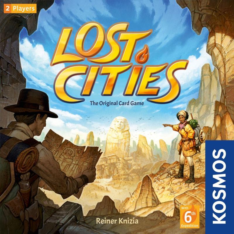 настольная игра Lost Cities Потерянные города