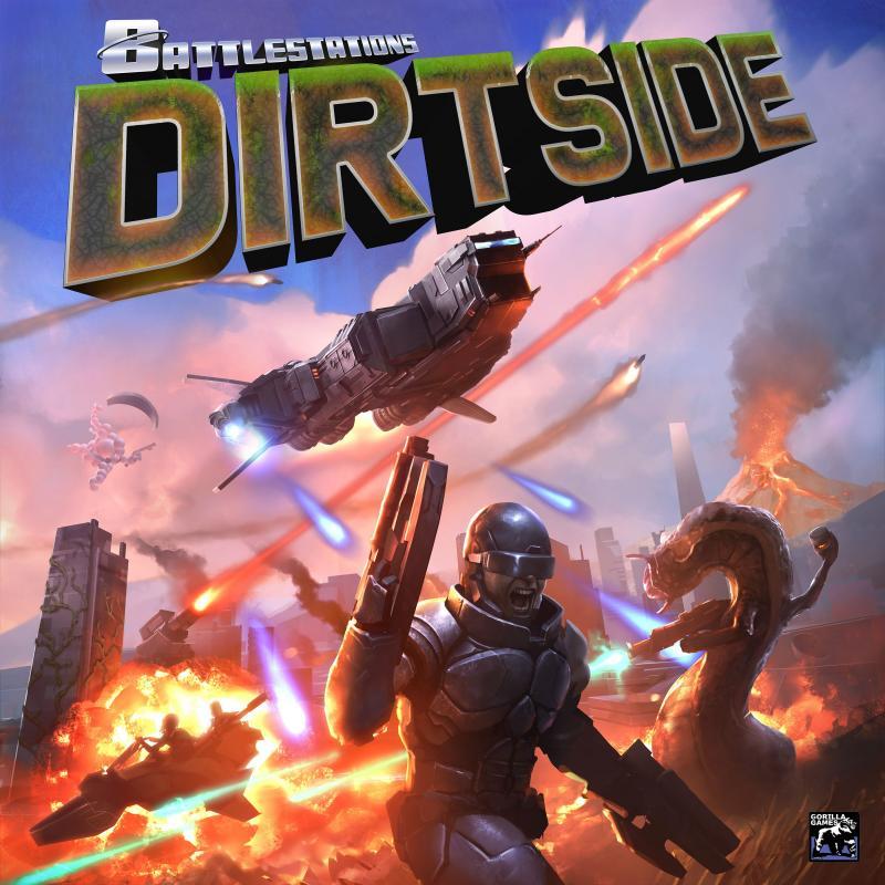 настольная игра Battlestations: Dirtside