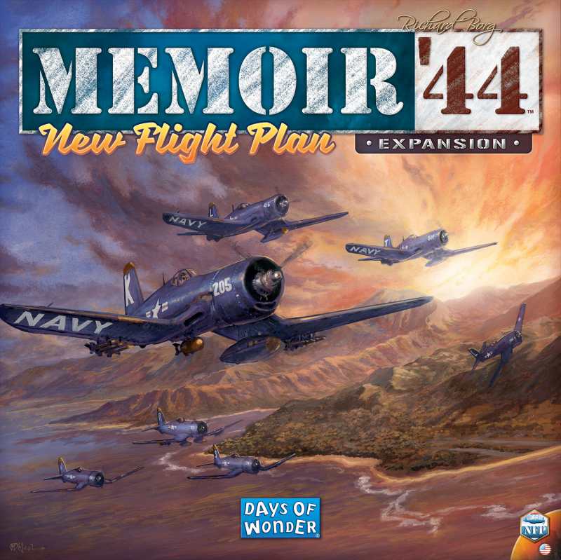 настольная игра Memoir '44: New Flight Plan Мемуары 44 года: новый план полета