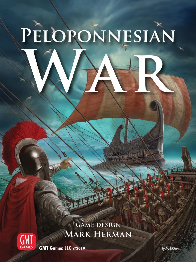 настольная игра Peloponnesian War Пелопоннесская война