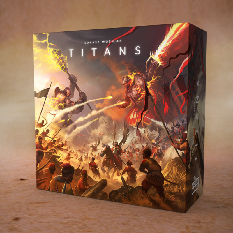 настольная игра Titans Титаны