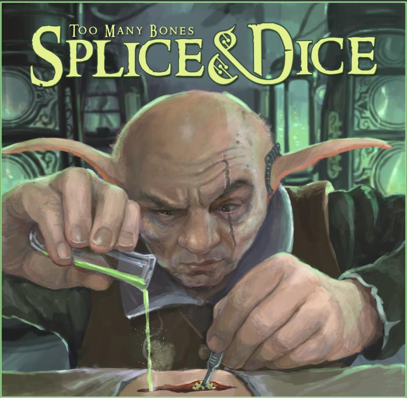 настольная игра Too Many Bones: Splice & Dice Слишком много костей: сращивание и игра в кости