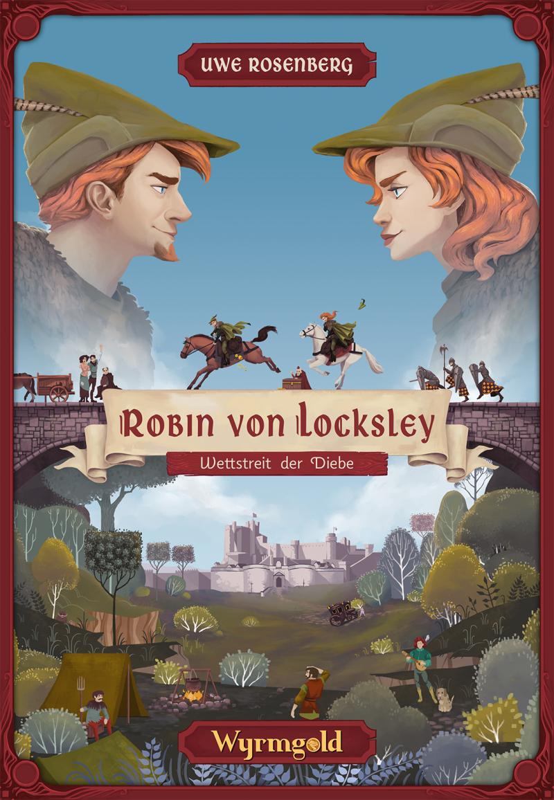 настольная игра Robin von Locksley Робин Локсли