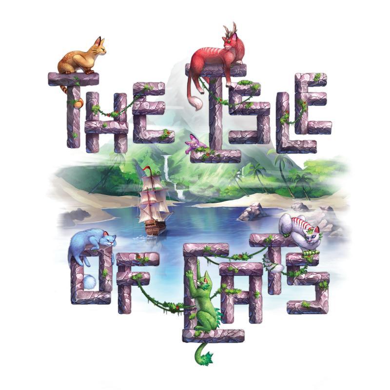 настольная игра The Isle of Cats Остров кошек