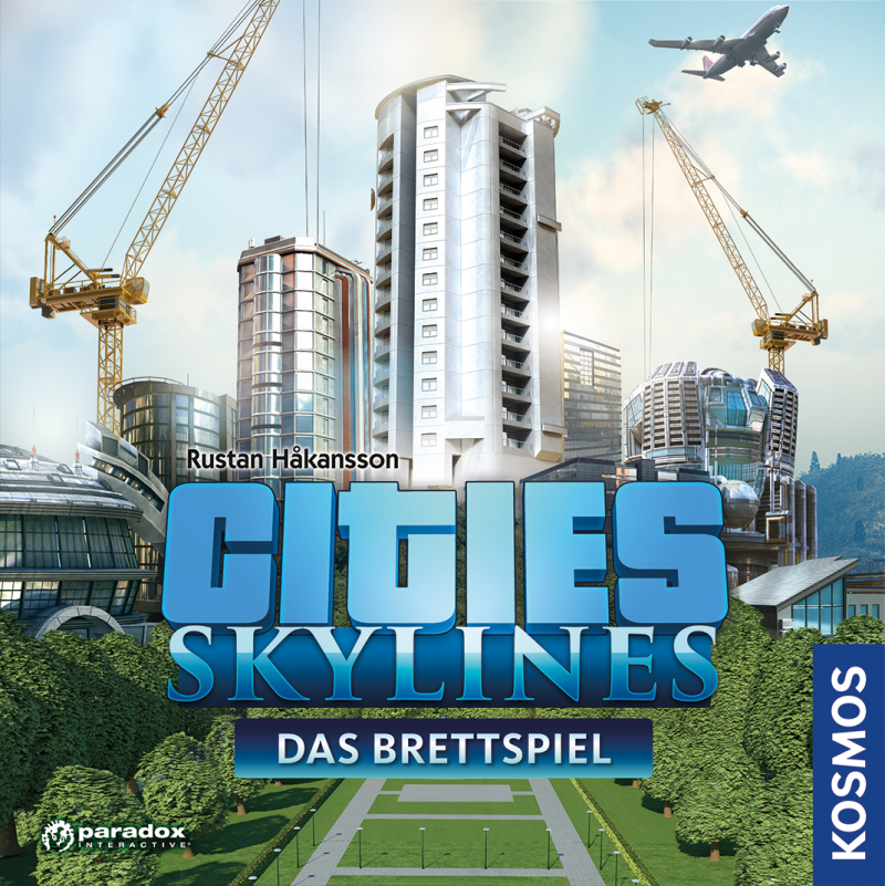 настольная игра Cities: Skylines – The Board Game Города: Горизонты - Настольная игра