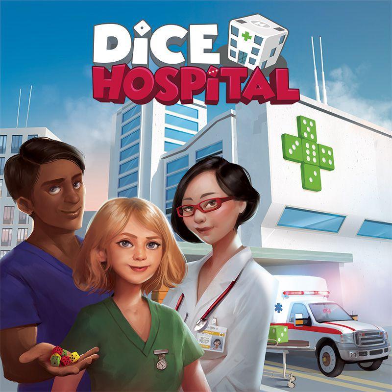 настольная игра Dice Hospital Больница говорит