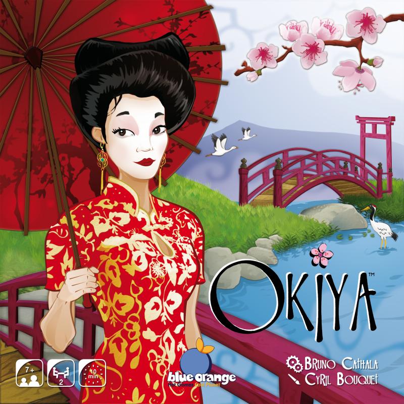 настольная игра Okiya Окия