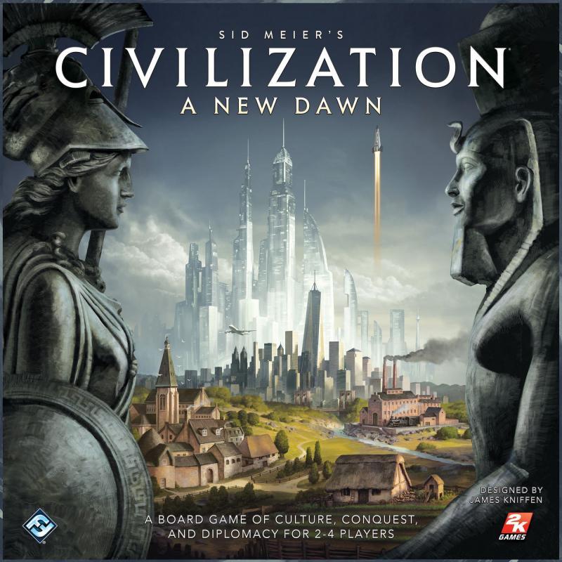 настольная игра Sid Meier's Civilization: A New Dawn Цивилизация Сида Мейера: новый рассвет