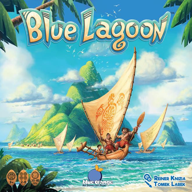 настольная игра Blue Lagoon Голубая лагуна