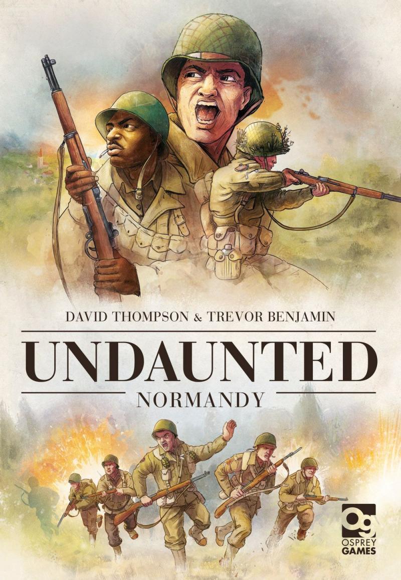 настольная игра Undaunted: Normandy Неустрашимый: Нормандия