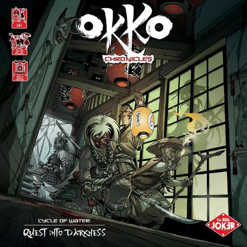 настольная игра Okko Chronicles: Cycle of Water – Quest into Darkness Хроники Окко: Цикл Воды - Поиски во тьме