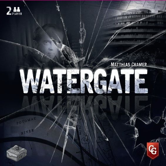 настольная игра Watergate Уотергейт