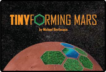 настольная игра TINYforming Mars Крошечный Марс