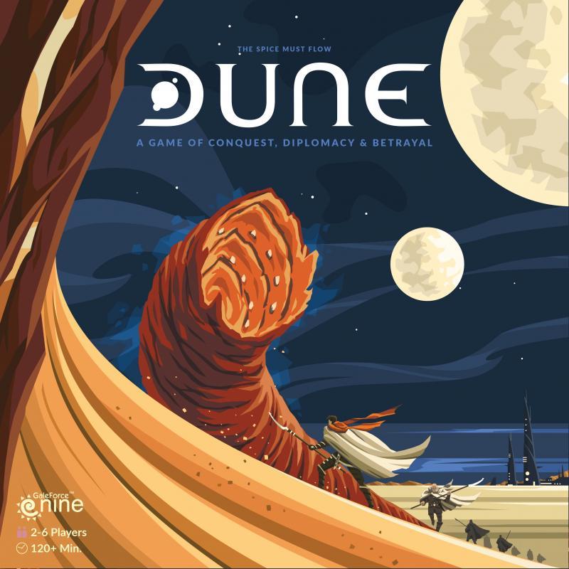 настольная игра Dune (2019 Edition) Дюна (издание 2019 года)