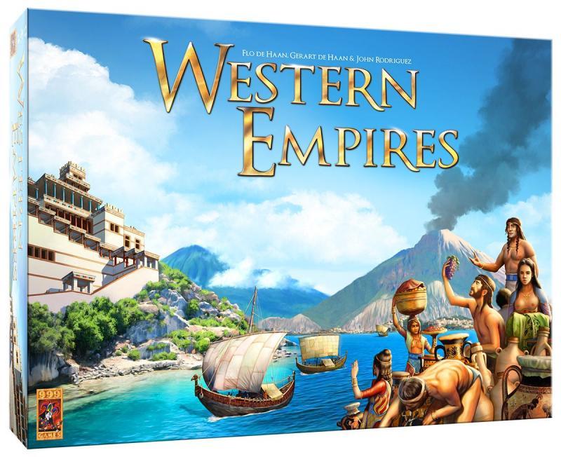 настольная игра Western Empires Западные Империи