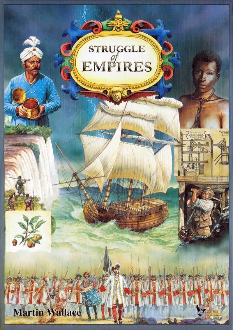 настольная игра Struggle of Empires Борьба Империй