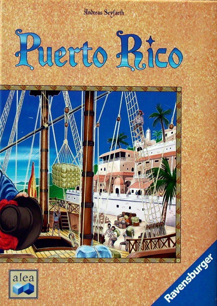 настольная игра Puerto Rico Пуэрто-Рико