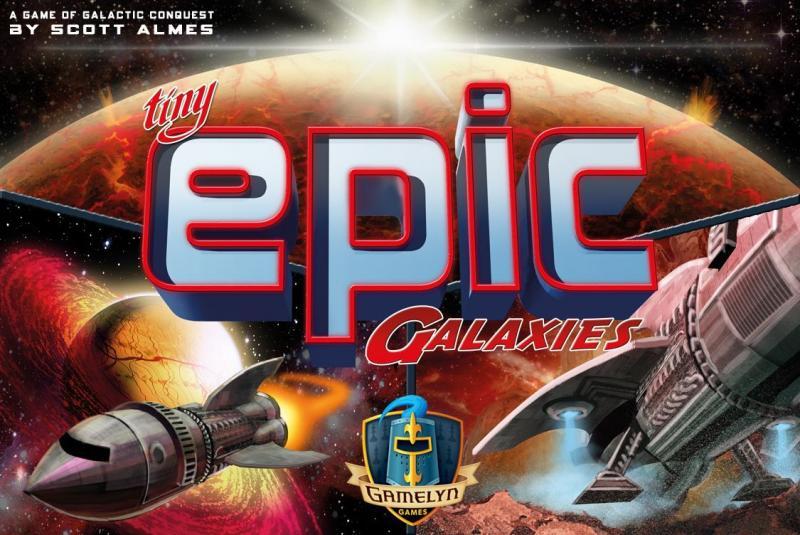 настольная игра Tiny Epic Galaxies Крошечные эпические галактики