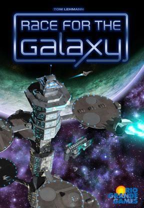 настольная игра Race for the Galaxy Гонка за Галактикой