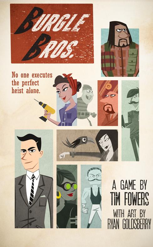 настольная игра Burgle Bros.