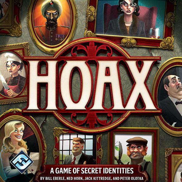настольная игра Hoax (second edition) Мистификация (второе издание)