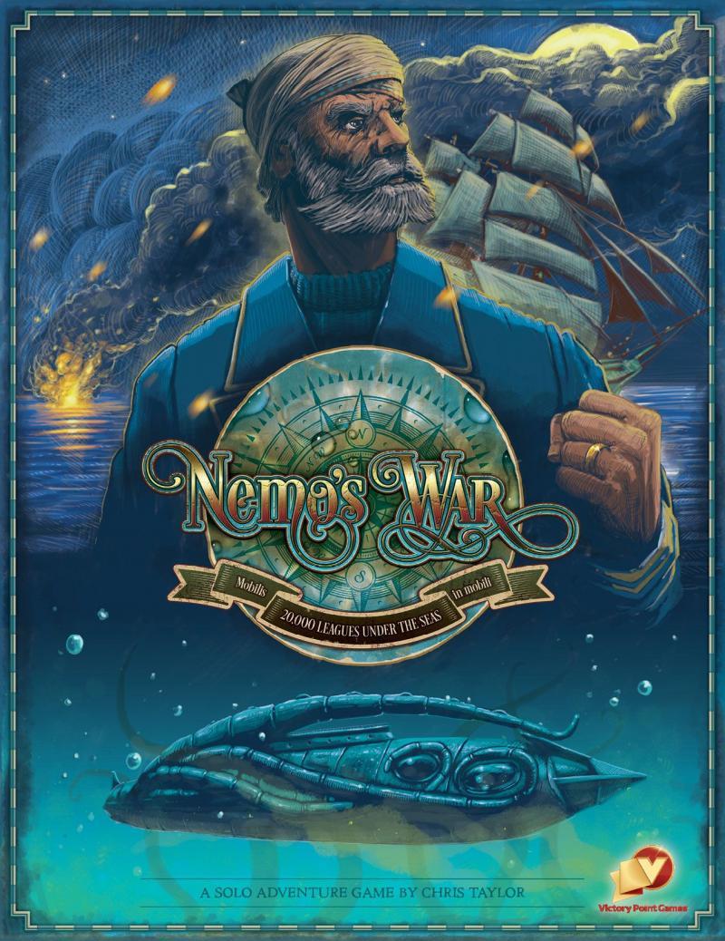 настольная игра Nemo's War (second edition) Война Немо (второе издание)