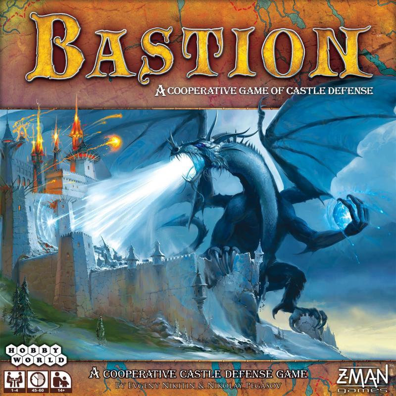 настольная игра Bastion Бастион