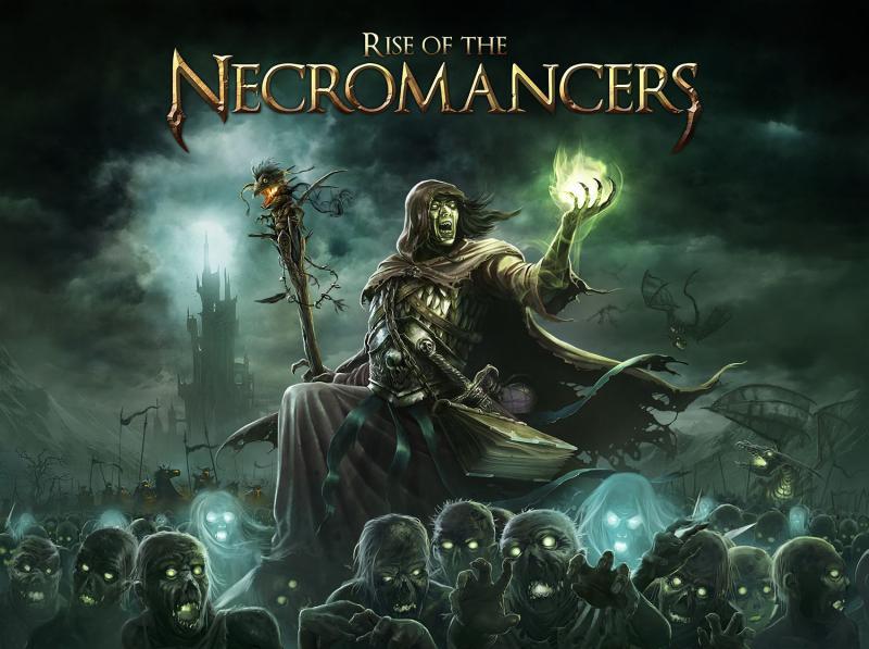 настольная игра Rise of the Necromancers Восстание Некромантов