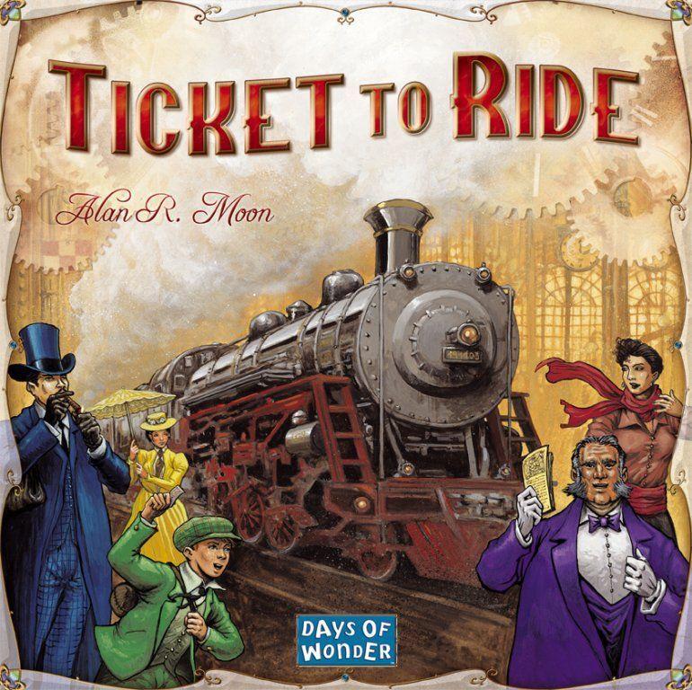 настольная игра Ticket to Ride Билет на поезд