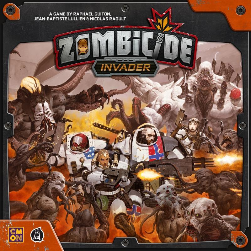 настольная игра Zombicide: Invader Зомбицид: Захватчик