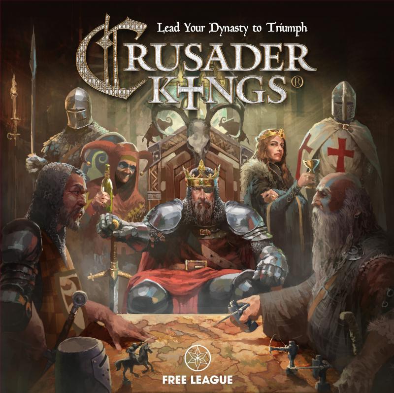 настольная игра Crusader Kings Крестоносец Короли