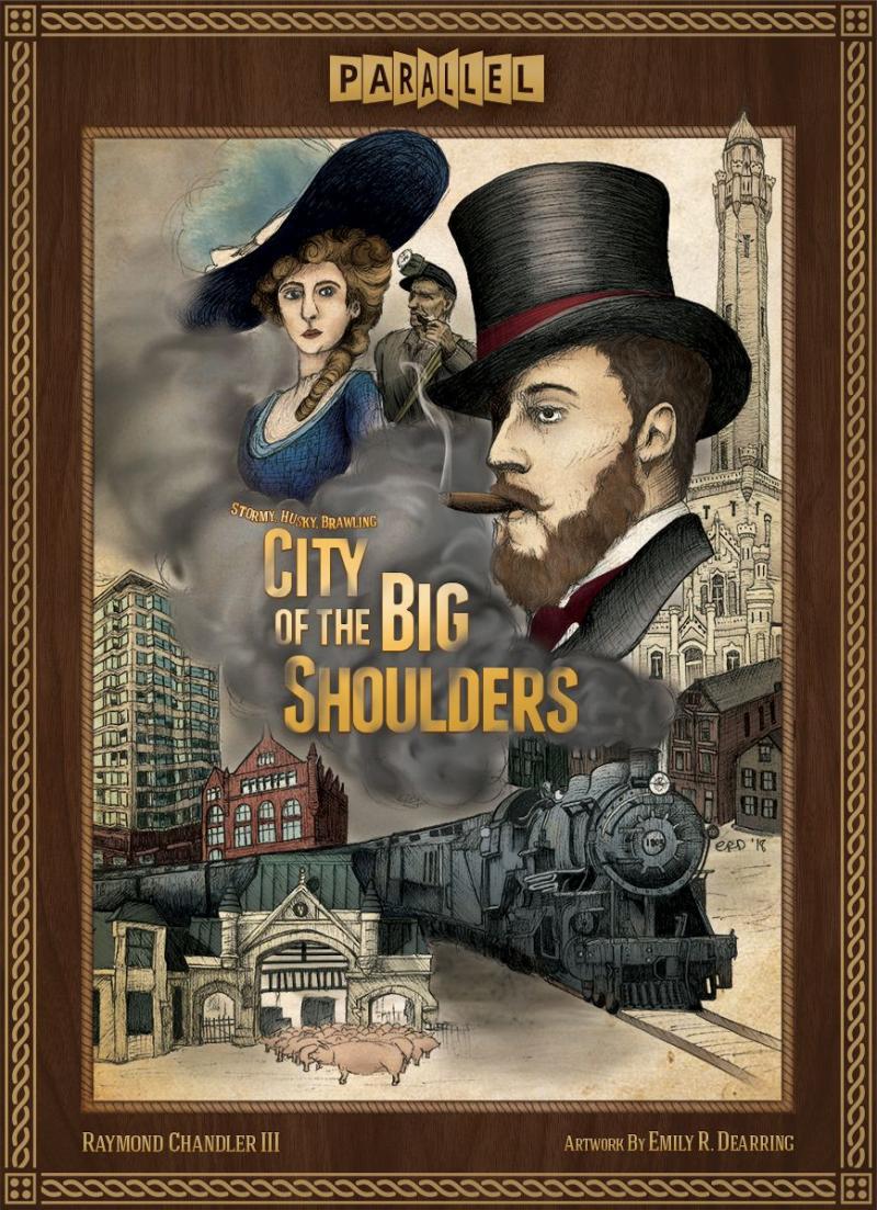 настольная игра City of the Big Shoulders Город Больших Плеч