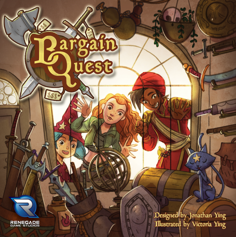 настольная игра Bargain Quest Сделка квест
