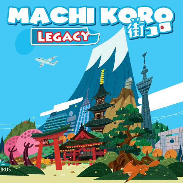 настольная игра Machi Koro Legacy Мачи Коро Легаси