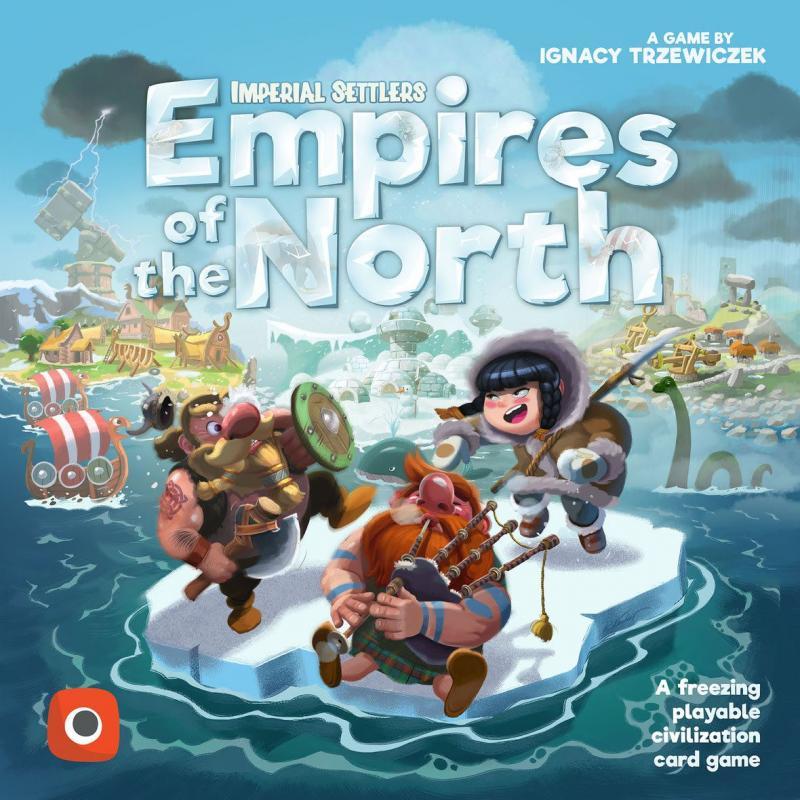 настольная игра Imperial Settlers: Empires of the North Имперские Поселенцы: Империи Севера