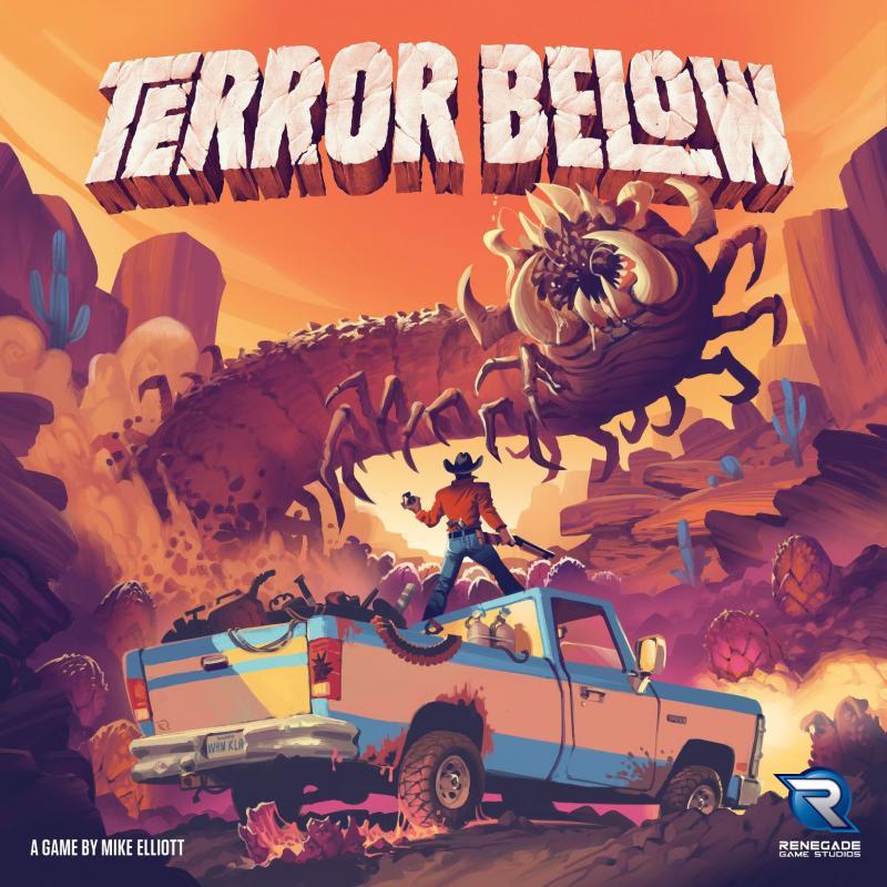 настольная игра Terror Below Террор внизу