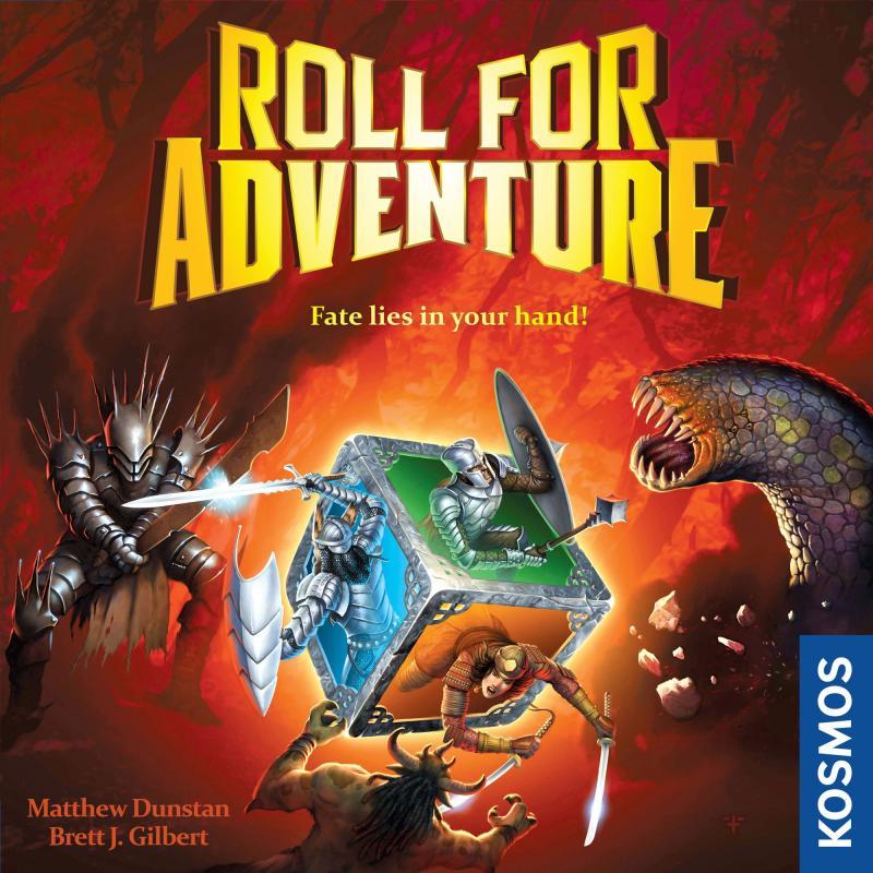 настольная игра Roll for Adventure Ролл для приключений