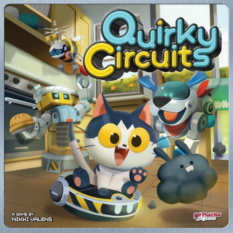 настольная игра Quirky Circuits Причудливые Схемы