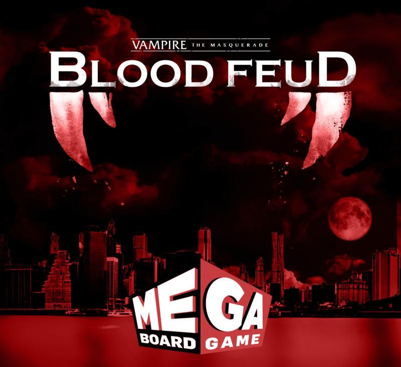 настольная игра Vampire: The Masquerade – Blood Feud Вампир: Маскарад - Кровная месть