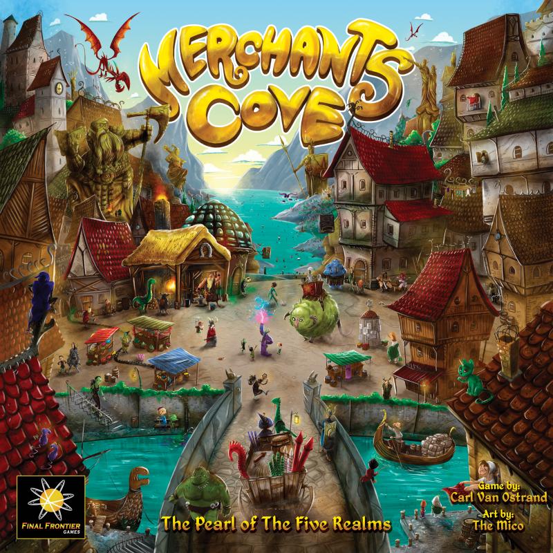 настольная игра Merchants Cove Торговцы Бухта