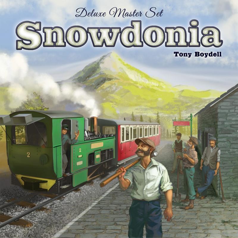 настольная игра Snowdonia: Deluxe Master Set Сноудония: роскошный мастер-набор