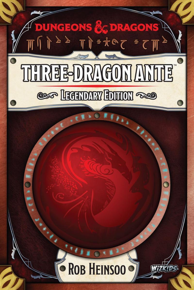 настольная игра Three-Dragon Ante: Legendary Edition Анте трех драконов: легендарное издание