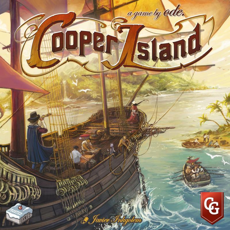 настольная игра Cooper Island Купер Айленд